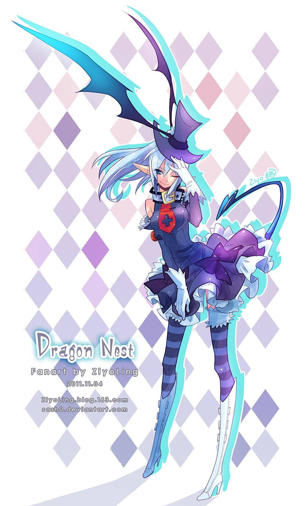 DragonNest Halloween2011 by ZiyoLing