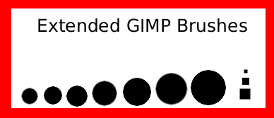 GIMP Extended Brushes by SonicChao05