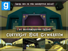 Map - Canterlot High Gymnasium by SketchMCreations