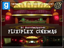 Map - Flixiplex Cinemas by SketchMCreations