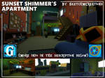 Map - Sunset Shimmer's Apartment
