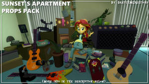 Model - Sunset's Apartment Props Pack