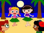 Hula Dancing Girls GIF