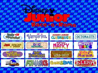 Disney Junior Race-a-rama GIF by Gamekirby