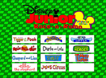 Disney Junior Race-a-rama Playhouse Edition GIF by Gamekirby