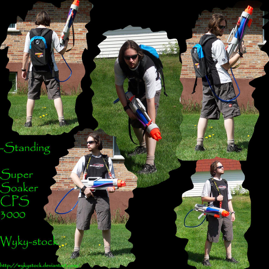 Super Soaker Cps 3000 Pack 1 By Wykystock On Deviantart