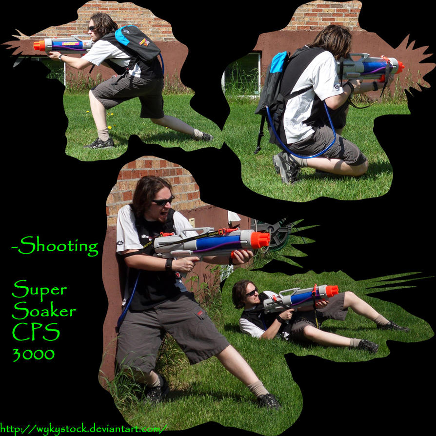 Super Soaker Cps 3000 Pack 3 By Wykystock On Deviantart