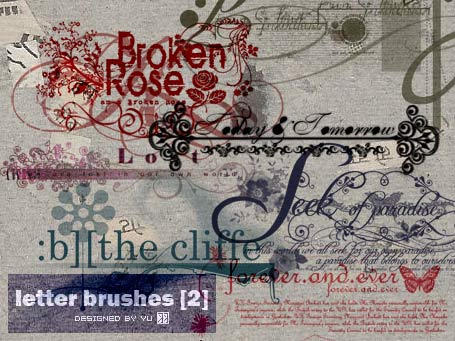 letter brushes2 by yu-resource