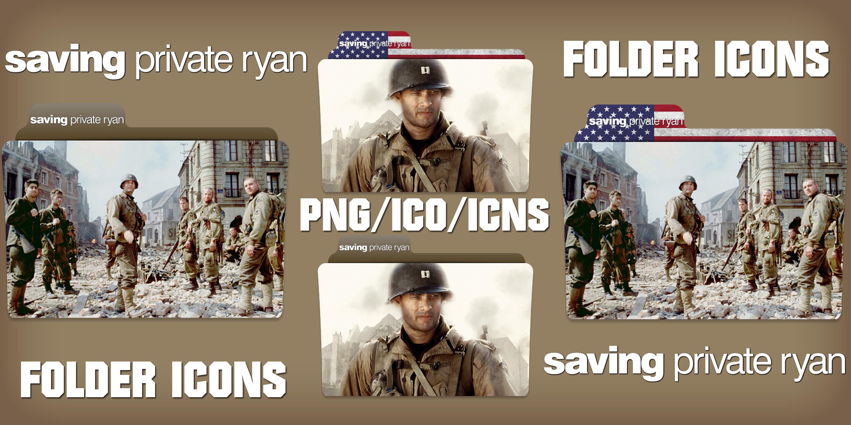 Saving Private Ryan 1998 Folder Icons Pack By Chrisneville32 On Deviantart