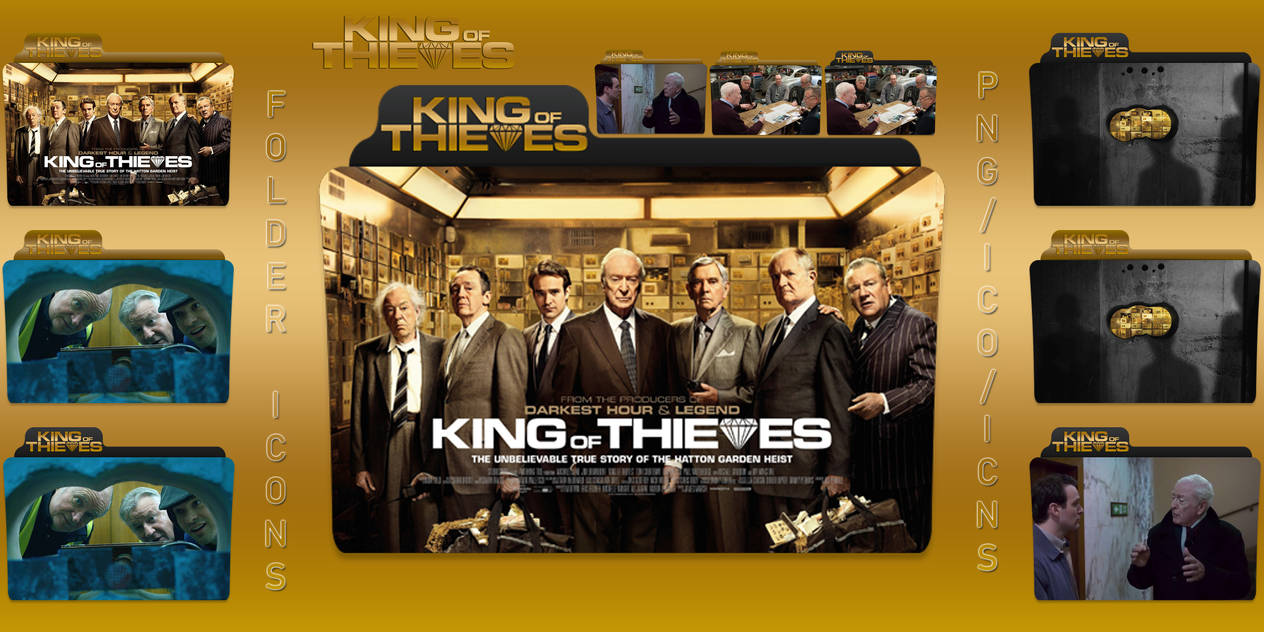 King of Thieves (2018) Folder Icons Pack