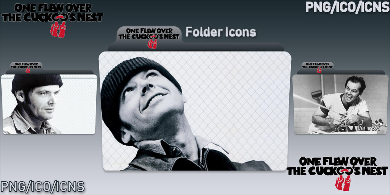 One Flew Over the Cuckoo's Nest (1975) Folders by ChrisNeville32