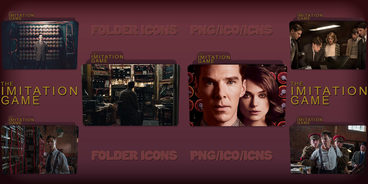 The Imitation Game (2014) Folder Icons Pack by ChrisNeville32