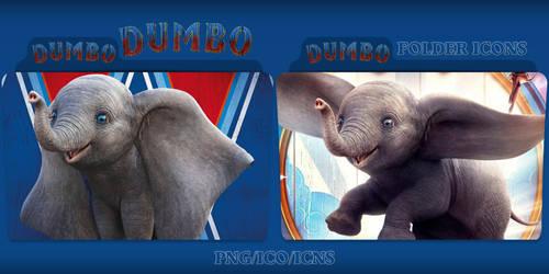 Dumbo (2019) Folder Icons Pack by ChrisNeville32