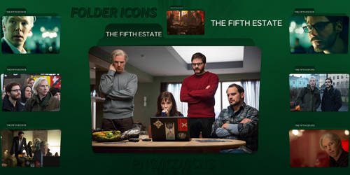 The Fifth Estate (2013) Folder Icons Pack