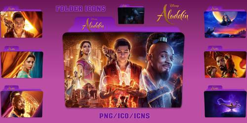 Aladdin (2019) Folder Icons Pack by ChrisNeville32