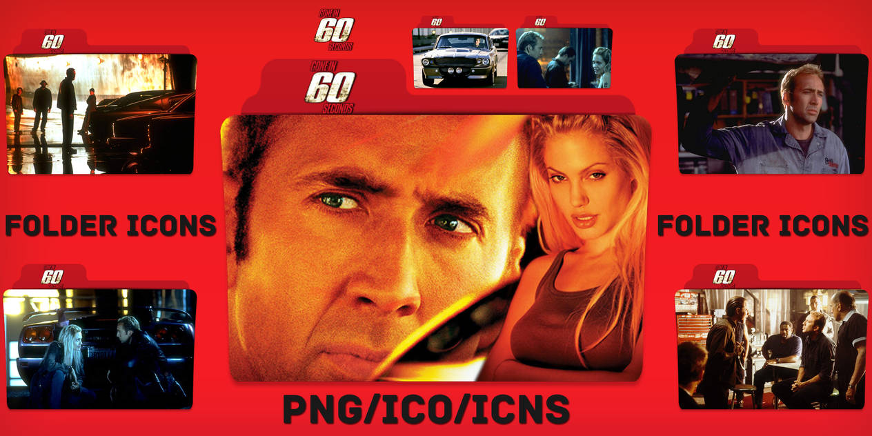 Gone in 60 Seconds (2000) Folder Icons pack by ChrisNeville32