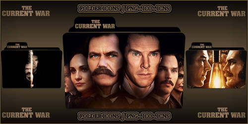 The Current War (2017) Folder Icons pack