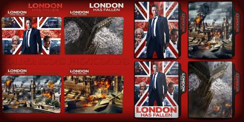 London Has Fallen (2016) Folder Icons pack by ChrisNeville32