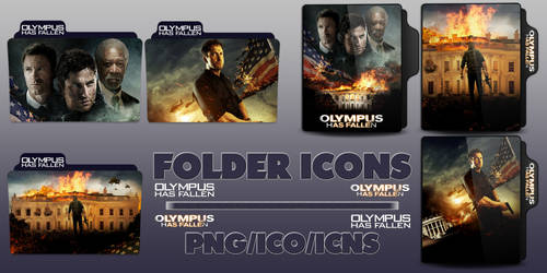 Olympus Has Fallen (2013) Folder Icons pack