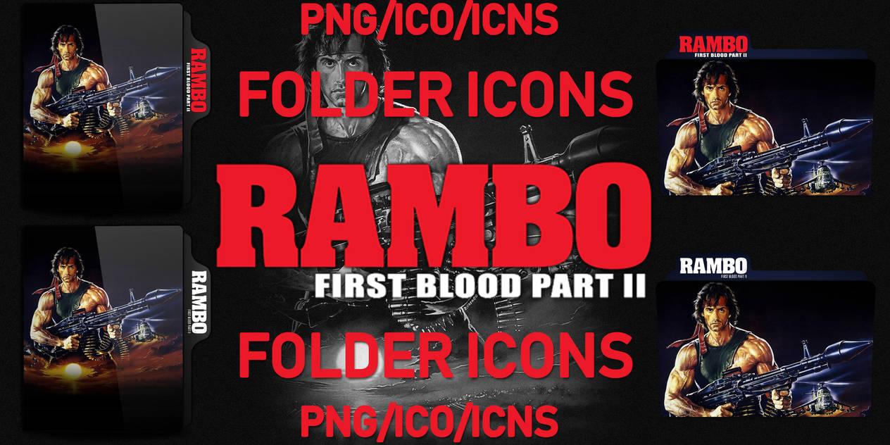 Rambo First Blood Part Ii 1985 Folders By Chrisneville32 On Deviantart