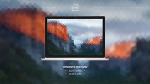 Yosemite Polygon Wallpaper