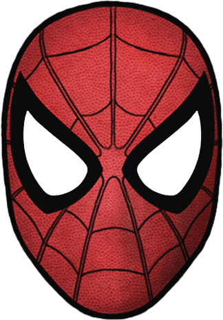 D Spider Face Paint