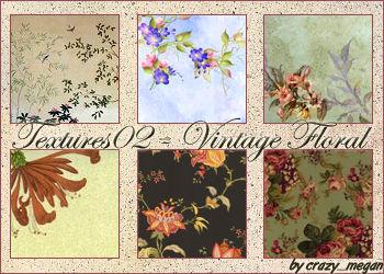 Textures02 - Vintage Floral