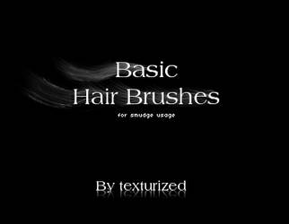 Hair brushes - smudge usage by Texturized
