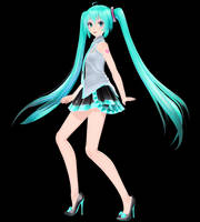 [MMD DL Closed] TDA Sleeveless Miku Edit by Mario-and-Sonic-Guy