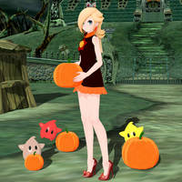 TDA Tennis Outfit Rosalina Edit (Halloween Themed) by Mario-and-Sonic-Guy