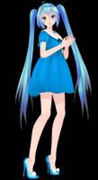 [MMD DL Closed] TDA Cute Dress Miku