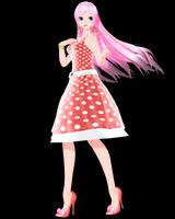 [MMD Download] TDA Polka-Dot Dress Luka by Mario-and-Sonic-Guy