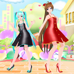 [MMD DL] TDA + WYKP Miku and Amy 3DCG Dress Edits