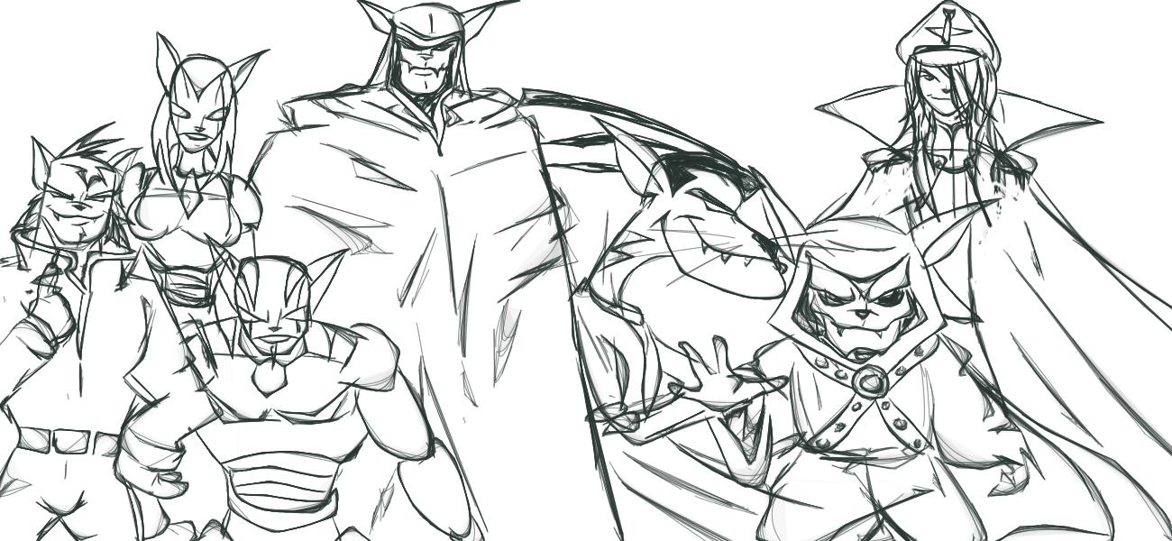 The Villains of SWAT KAT - Take 2 by nemalki