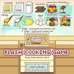 Dessert Maker - flash game v1.4 (22 recipes)