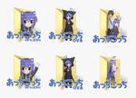 Acchi Kocchi Folder Icons (Windows XP/Vista/ 7/ 8)