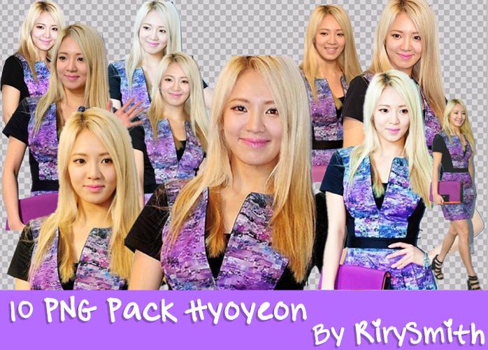 Hyoyeon PNG Pack RiryArt by RiryechSmithYul21