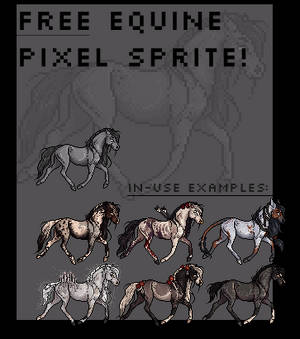 F2U Equine Pixel Sprite