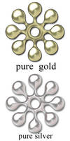 gold and silver styles