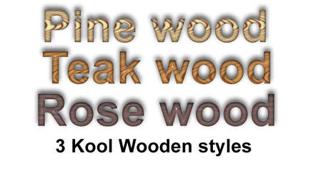 Kool wooden styles by koolprincein
