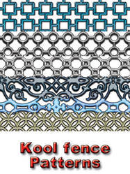 Kool fence patterns by koolprincein