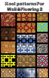 Kool petterns for wall and flooring 2 by koolprincein