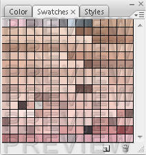 Skin Tone Swatches by punkisstillcool