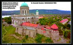 Esztergom Basilica and Burg - A Bird's Eye View
