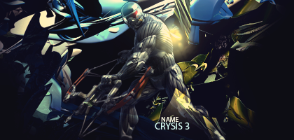 Crysis 3 Signature by ADDOriN