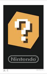 Nintendo 3DS AR Card: A-1
