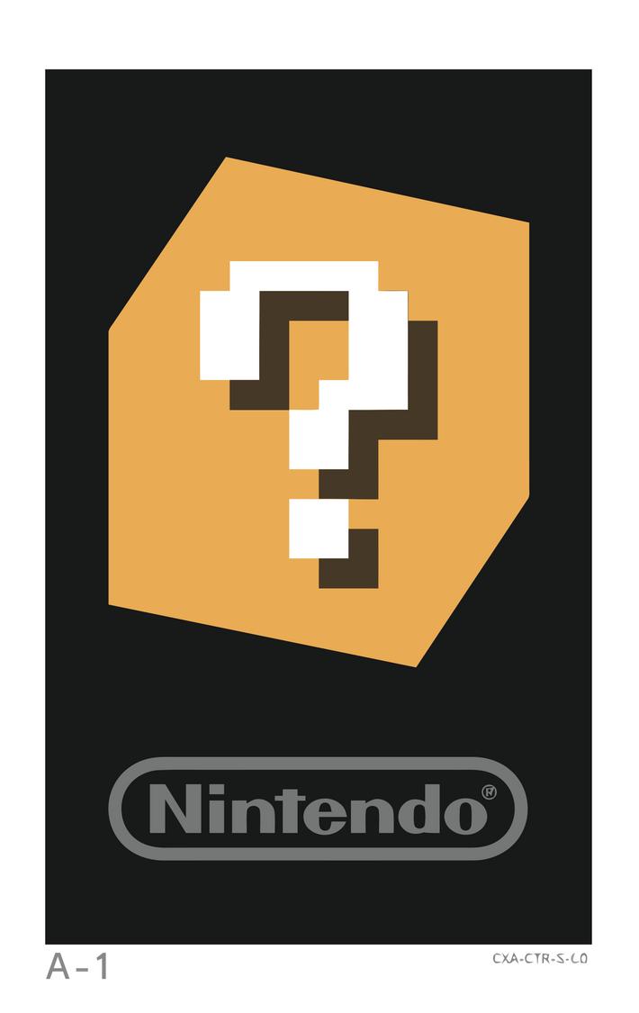 Nintendo 3DS AR Card: A-1 by elviswjr