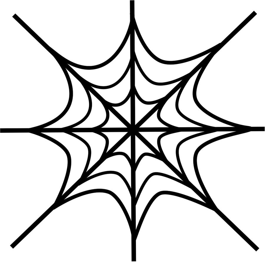 Spider Web Vector By Lecyberpunk On Deviantart