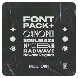 FONT PACK: ONE