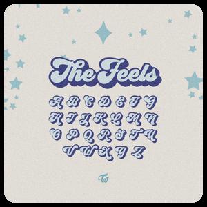 TWICE 'THE FEELS' FONT